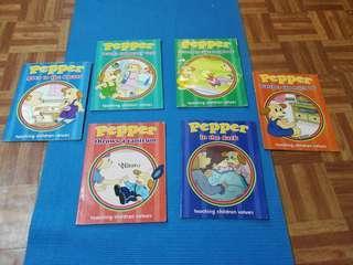 Pepper teaching children values