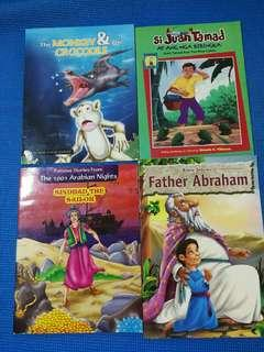 Sinbad, space facts, Father Abraham, the monkey and the crocodile, Juan Tamad