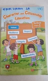 P1 Character & Citizenship Education Textbook (Pioneer Primary)