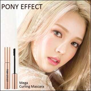 pony effect mega curling mascara #black
