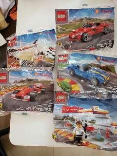 Lego x shell, Lego 車,回力車,車站, 40191,40192