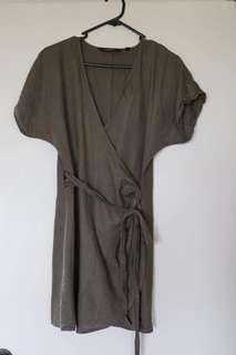 Wrap dress!