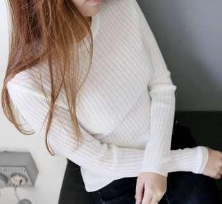 Knitted Pullover Sheer top