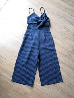 Brand new Stripe Jumpsuit