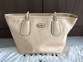 Coach Tote Bag - Cream
