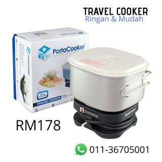Travel Cooker (Ringan dan mudah)
