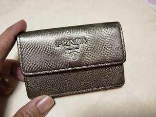 AUTHENTIC PRADA CARD HOLDER ( $50 FIXED)
