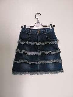 DS#166 - Denim Skirt