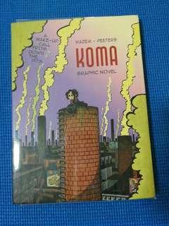 Graphic Novel Koma by Wazem-Peeters