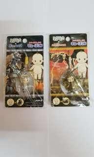 日本 Run A Kewpie BB x 哥斯拉 怪獸 2個