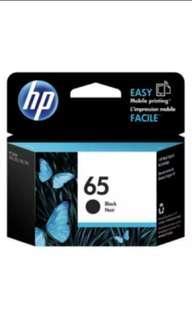 🚚 BNIB] Original HP 65 Black Color Ink Cartridge
