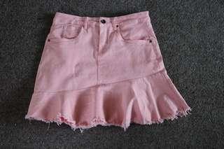 Pink skirt!