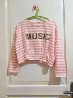 PINK MUSIC CROP 💕