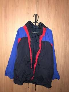 Unbranded puffy rain jacket (medium)
