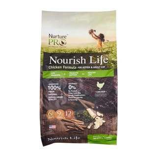 Nurture Pro Nourish Life Chicken Formula for Kitten And Adult Cat