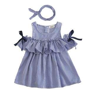 Toddler Dress with Turban