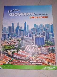 Sec 2 Geography Textbook : Urban Living