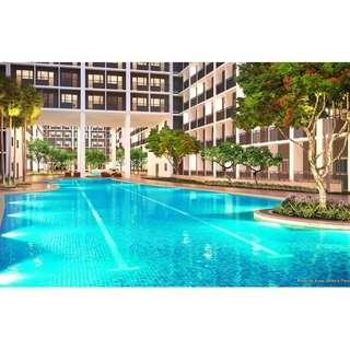 Family Suite A with Balcony (1BR) 26.12SQM. Luxury Condo in Pasay City near MOA, City of Dreams & PICC.