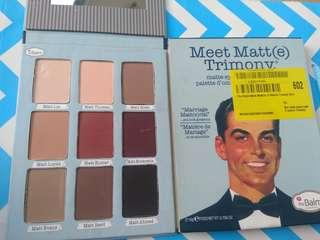 SALE!! THE BALM Meet Matt Trimony