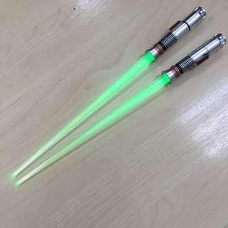 star wars chopsticks light up