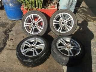 Rim K-Speed 16 inch with tires