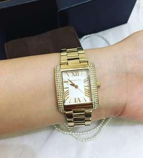 Michael Kors Emery Champagne Gold tone