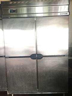 Freezer 4door Stainless steel