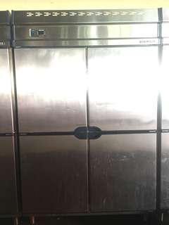 Chiller 4door Stainless steel