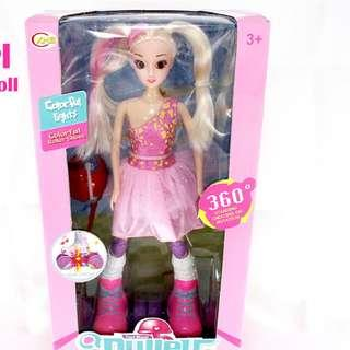 TOYS FOR GIRLS, WITH LIGHTS AND MOVING PULLEY GIRL
