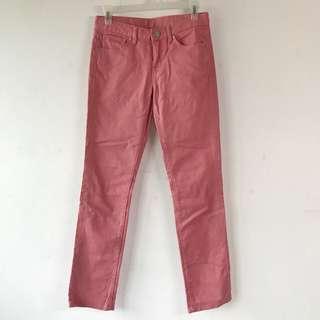 Uniqlo Pink Straight Pants