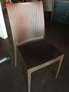 Single brown chair