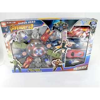 AVENGERS CARS TOYS!! FOR SALE