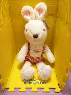 🚚 格子吊帶歡樂兔#年末感恩免費送