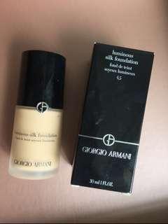 (包郵)Giorgio Armani Luminous Silk Foundation