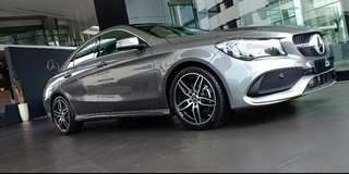CLA 200 AMG grey panoramic
