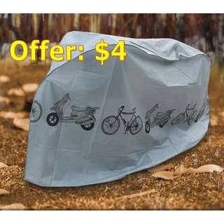 Rain Cover / Protection Dust Cover for Bicycle, E-scooter