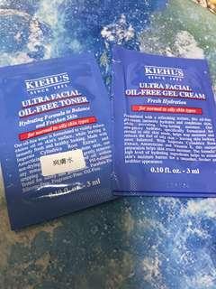 Kiehl's - Ultra Facial Oil Free Toner, Gel Cream