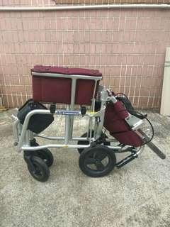 輕便鋁合金小輪椅