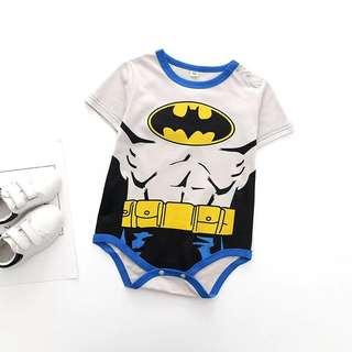 🚚 🌟INSTOCK🌟 Batman Superhero Overall Onesie Kids Newborn Baby Romper Children Clothing for boys