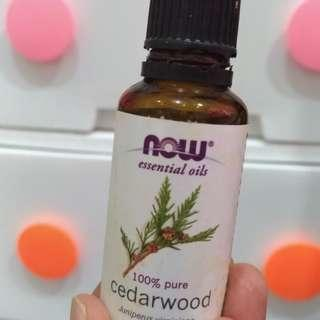 Now Essential Oil Cedarwood 30 ml