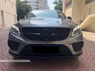 MERCEDES BENZ AMG GLE43 4MATIC COUPE (R21 LED SR)