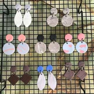 Handmade assorted designs earrings