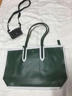 BNWT Lacoste Greener Pastures  L Shopping Bag