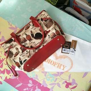 Red Diophy Henney Bear bag