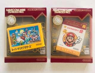 Super Mario 1 & 2 Famicom mini Japan Gameboy Advance