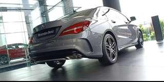 CLA 200 AMG panoramic grey