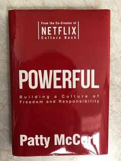 Powerful, by Netflix Patty McCord
