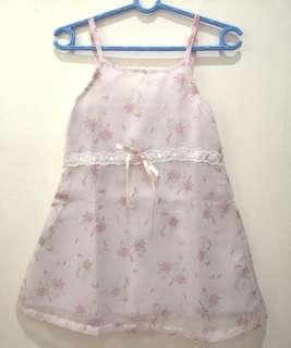Almost New! BEBE Formal Baby Dress