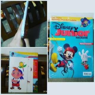 Buku Anak Disney Junior Magazine Edisi Khusus Aktivitas Puzzle dab Labirin