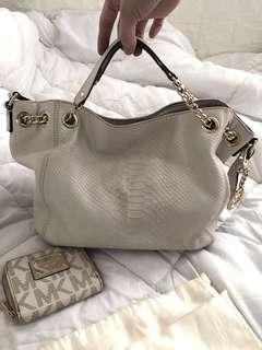 Michael Kors 2 Way Bag and wallet bundle